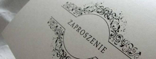 Zaproszenia ślubne Kartki świąteczne Zaproszenia ślubne Weselne