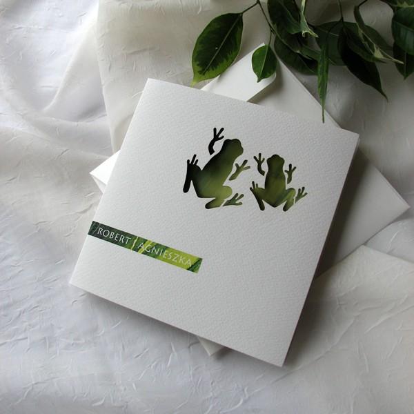 Cała Kolekcja Zaproszenie 1730 żabki