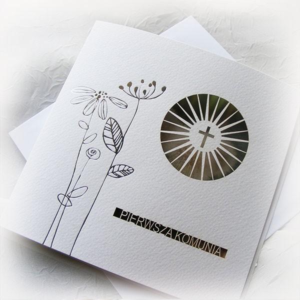 Zaproszenia Na Komunię świętą Zaproszenia Komunijne Z Okazji
